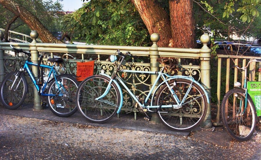 Blue Bikes...